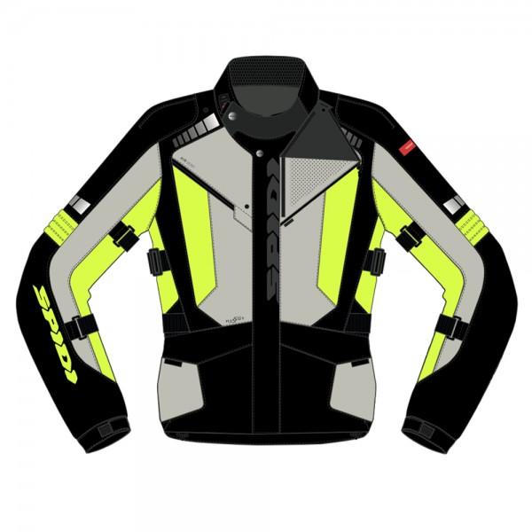 Spidi GB Outlander CE Jacket Black/Yellow