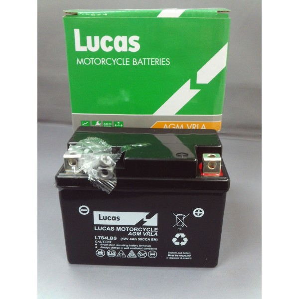 Lucas Batteries LYT4L-BS