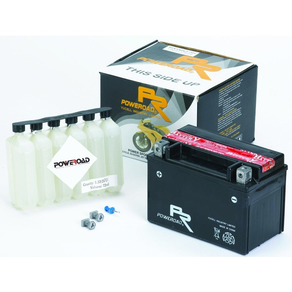 Poweroad Battery YTX4L-BS MF Type
