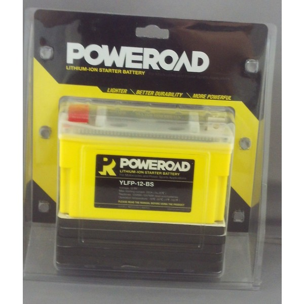 Poweroad Lithium-Ion Battery YLFP-12-BS