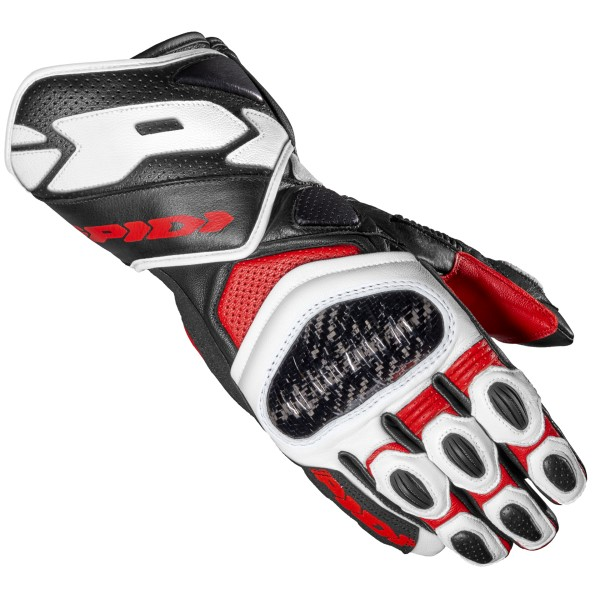 Spidi GB Carbo 7 CE Gloves Red Blk