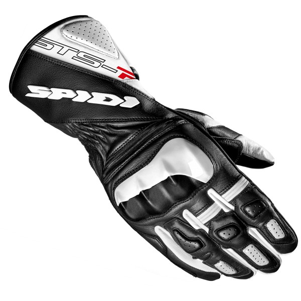 Spidi GB Sts-R2 CE Gloves Wht Blk
