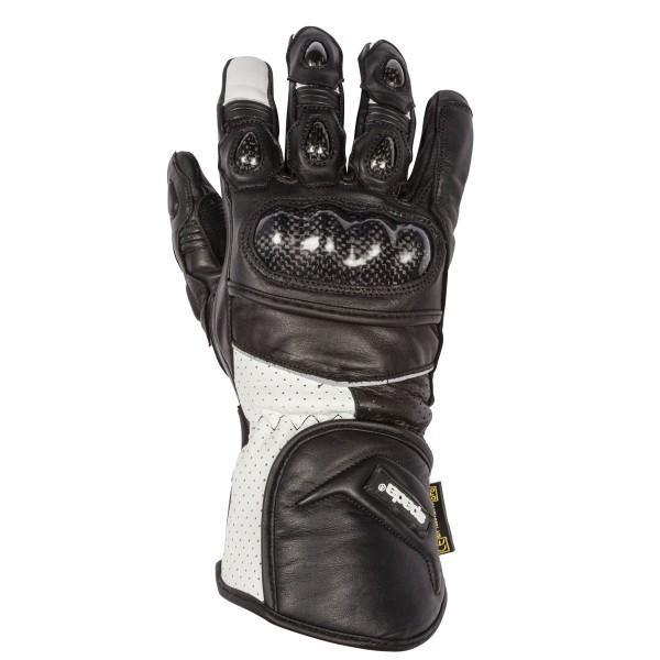 Spada CE Leather Gloves Beam CE  Black/White