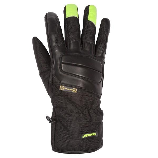 Spada Leather Gloves Shield CE Black/Flo