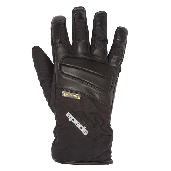 Spada Shield Leather Gloves - Black