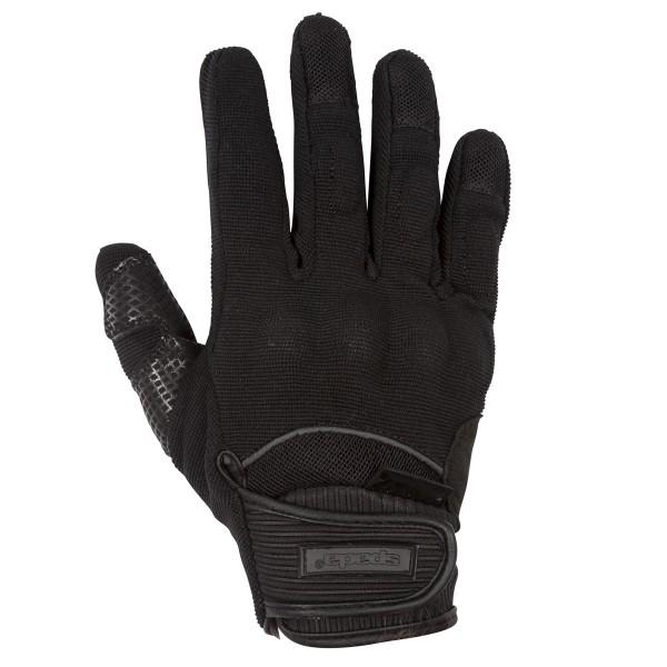 Spada Splash Leather Gloves - Black