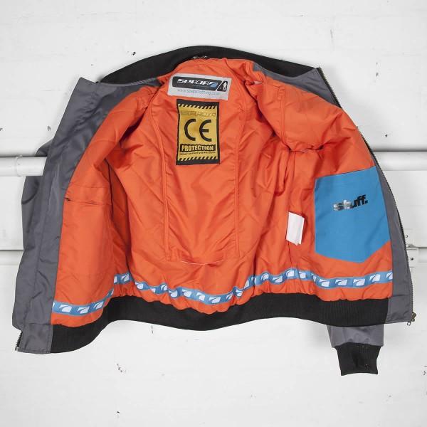 Spada Air Force 1 Textile Jacket - Platinum