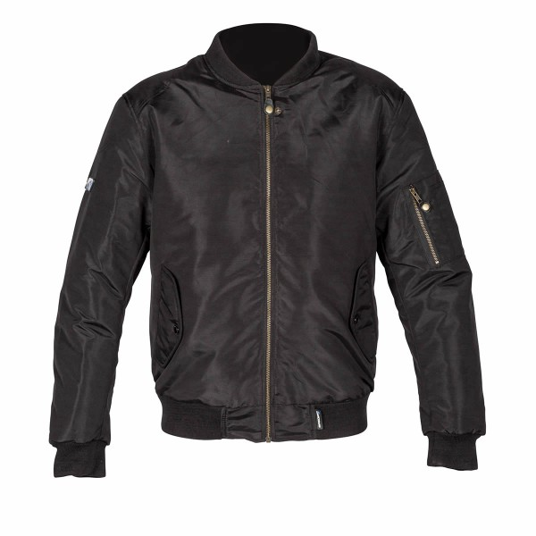 Spada Air Force 1 Textile Jacket - Black