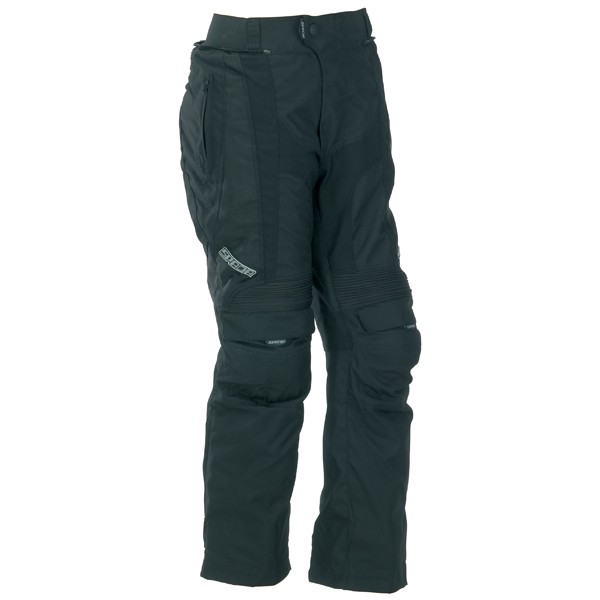Spada Duo Tech Textile Trousers - Black Short/Std Leg
