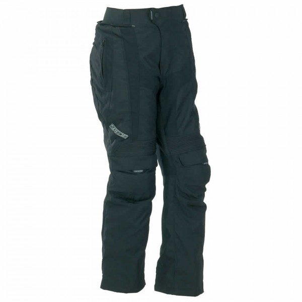 Spada Duo Tech Textile Trousers - Black/Blue Short/Std Leg