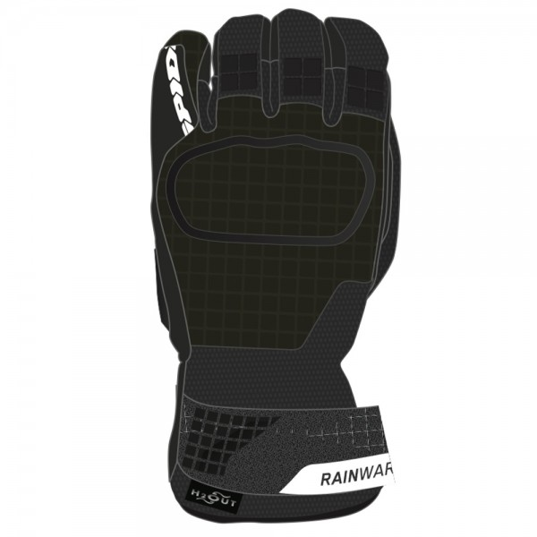 Spidi GB Rainwarrior CE Gloves Blk/Green