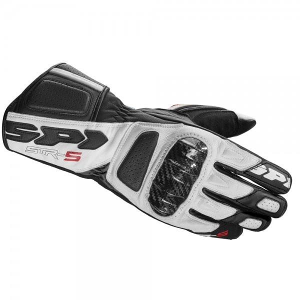Spidi GB Str-5 CE Gloves White/Black