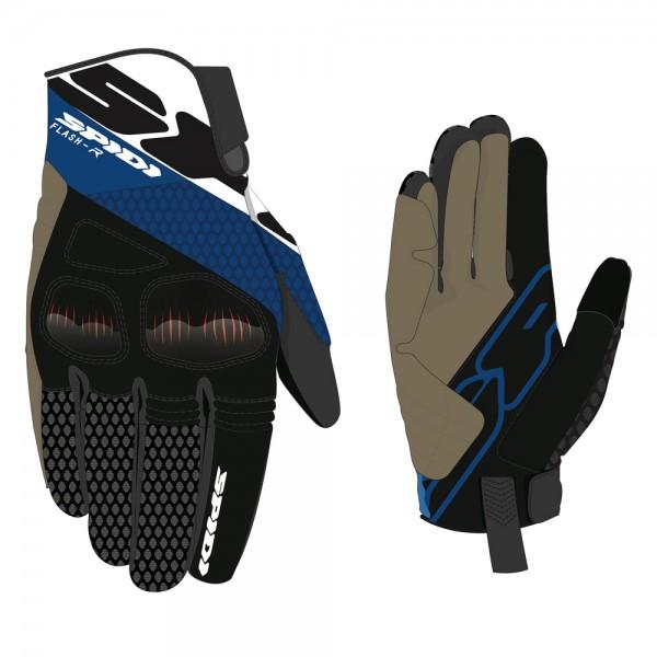 Spidi GB Flash R Evo CE Gloves [3] Blue