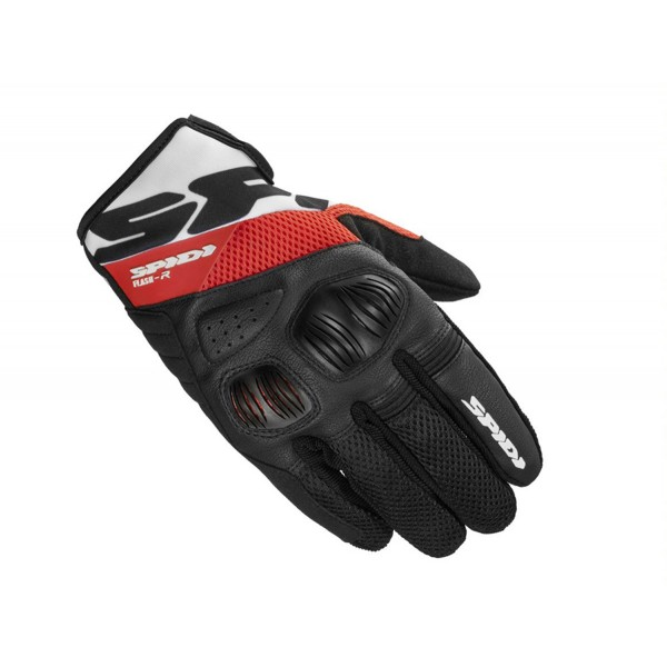 Spidi GB Flash R Evo CE Gloves [3] Red