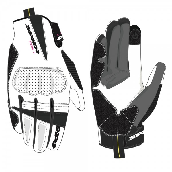 Spidi GB CE Charme 2 Lady Glove White