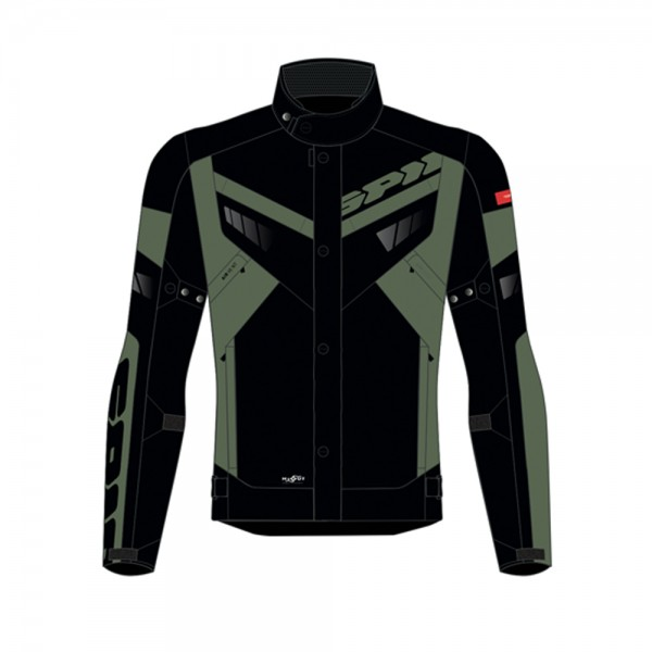 Spidi GB Freerider CE Jacket Blk/Grn