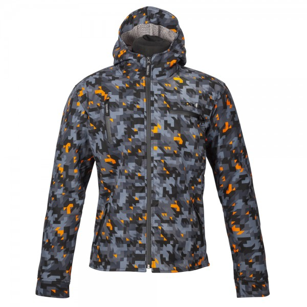 Spada Grid Textile Jacket - Camo Orange
