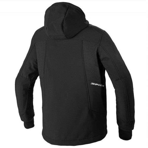 Spidi GB Hoodie Armor Evo CE Jacket Black