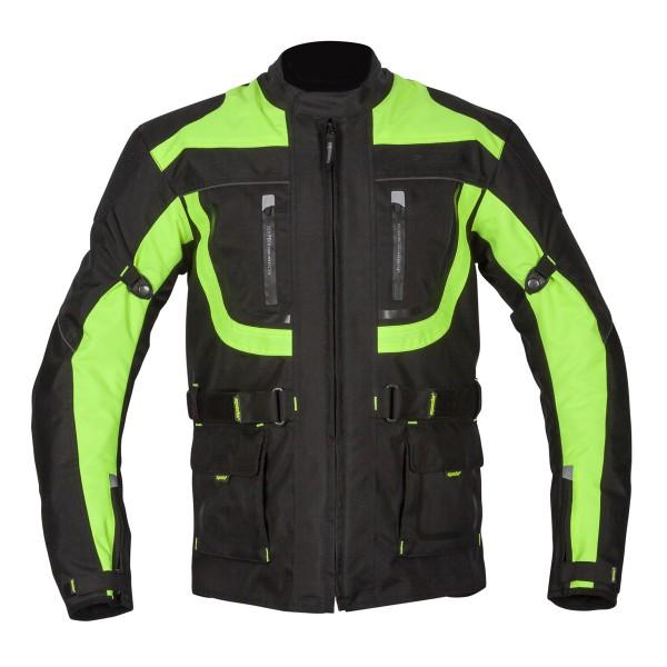 Spada Textile Jacket Zorst CE WP Black/Flo