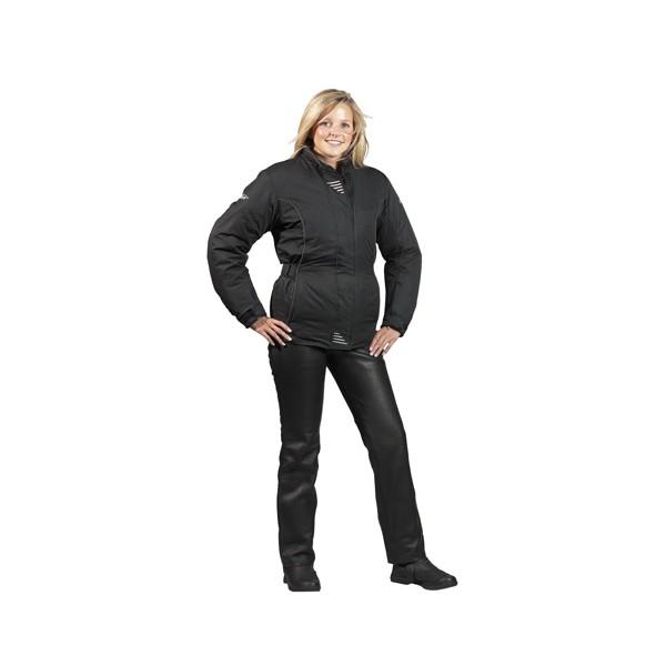Spada Western Ladies Leather Trousers - Black