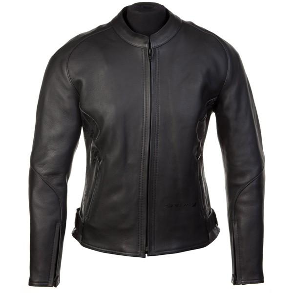 Spada Ninety5 Scroll Ladies Leather Jacket - Black