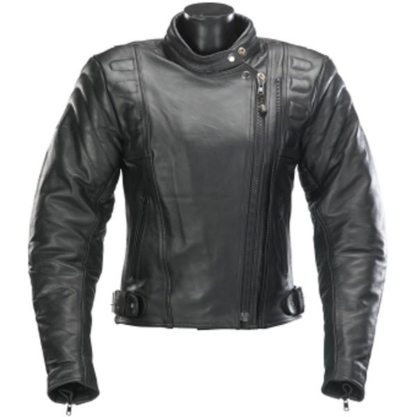 Spada Road Ladies Leather Jacket - Black