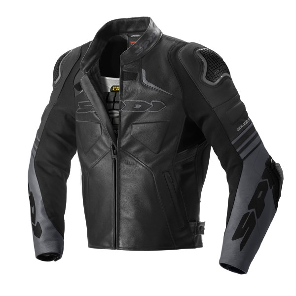 Spidi GB Bolide CE Leather Jkt Blk