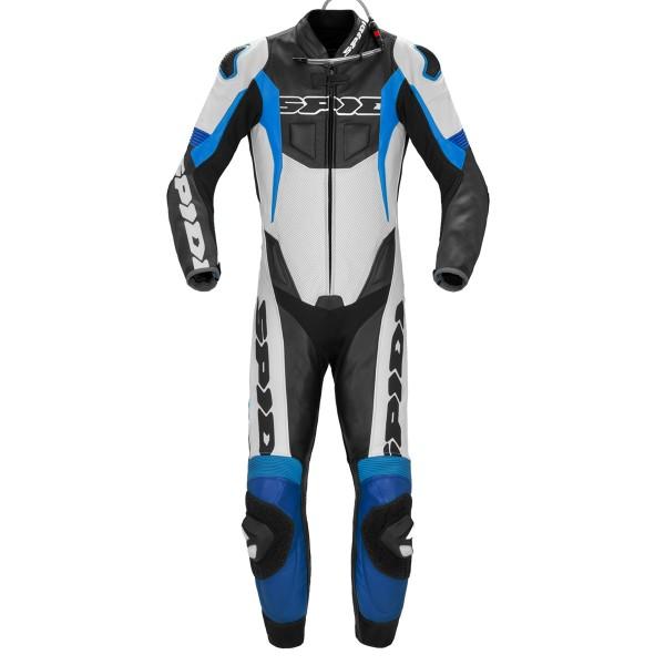Spidi GB Sport Warrior Perforated CE Pro Suit Blk Blue
