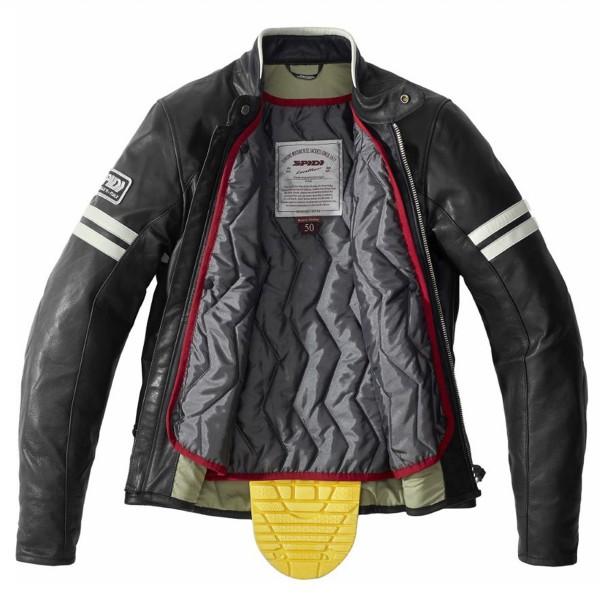 Spidi GB Vintage CE Jacket Black/White