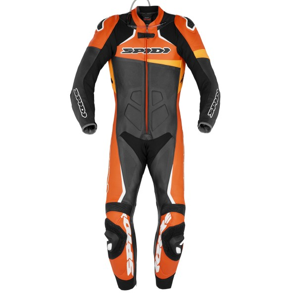 Spidi GB CE Race Warrior Perforated Pro Suit Blk Orange