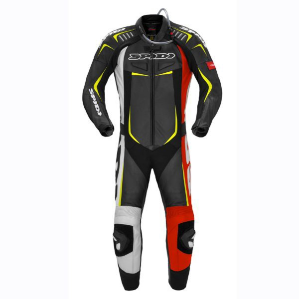 Spidi GB Track Wind Pro Suit CE Blk Red Yell