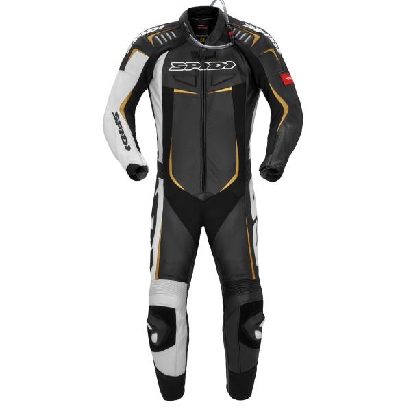 Spidi GB Track Wind Pro Suit CE Blk Wht Gold