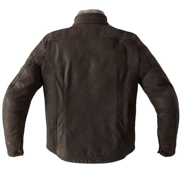 Spidi GB Firebird Leather Jacket-Brown