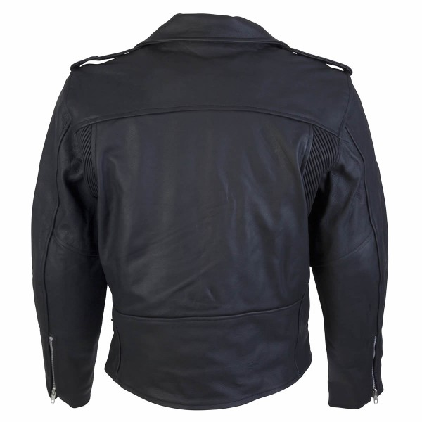 Spada Cruiser Leather Jacket - Black