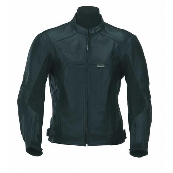 Spada Pro Tour Leather Jacket - Black
