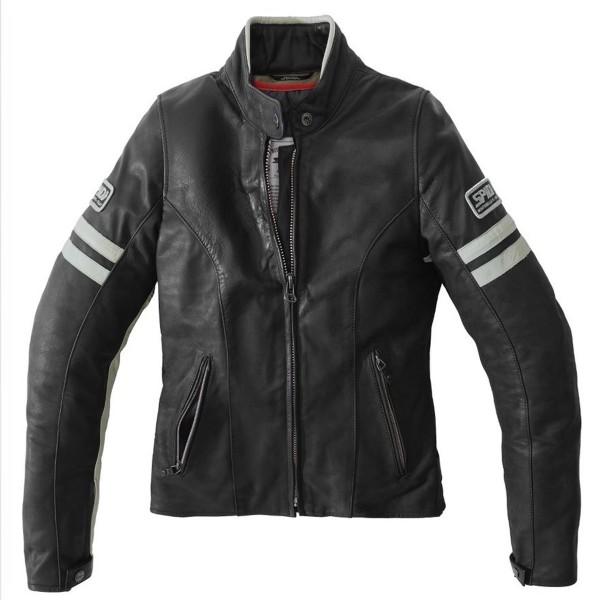 Spidi GB Vintage CE Lady Jacket Blk/Wht