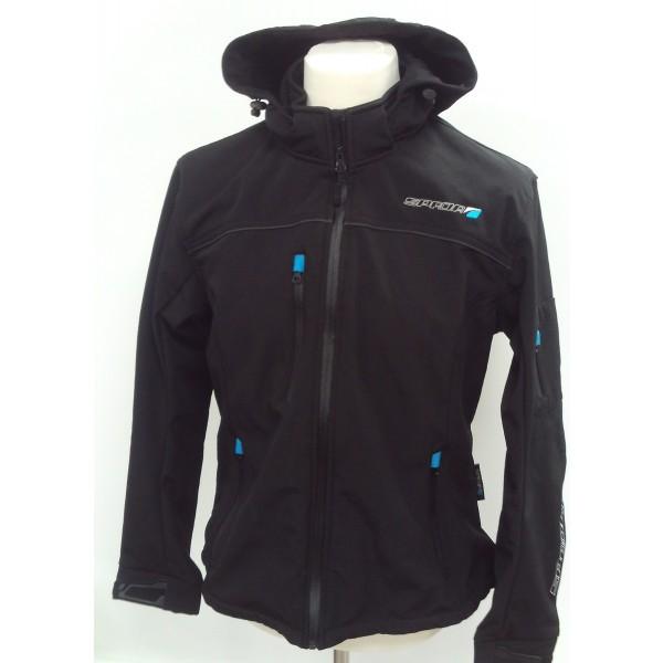 Spada Textile Jacket Lifestyle Softshell Ladies Black