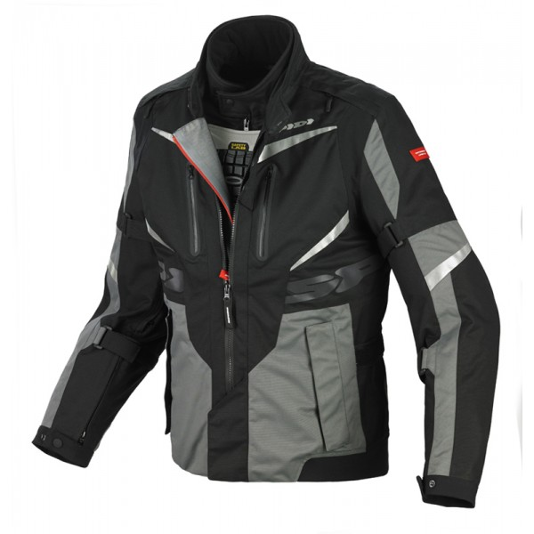 Spidi H2OUT X Tour WP Jacket-Black/Grey