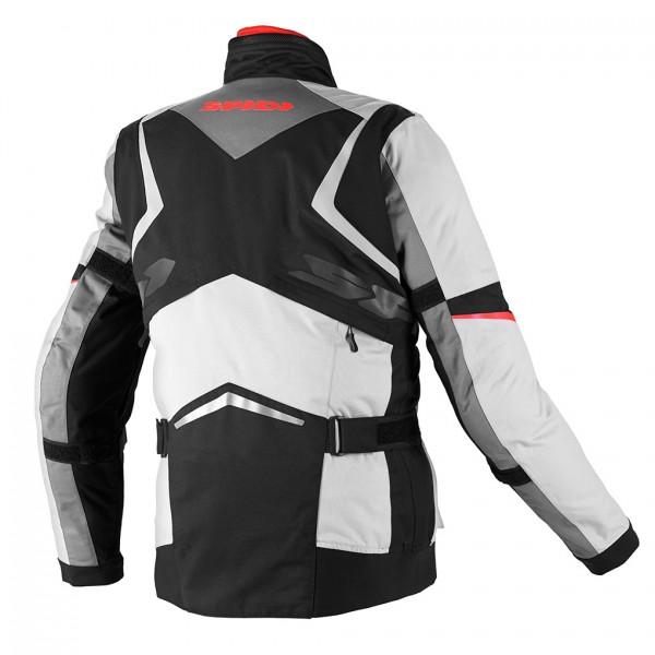 Spidi H2OUT X Tour WP Jacket-Black/Grey/Red
