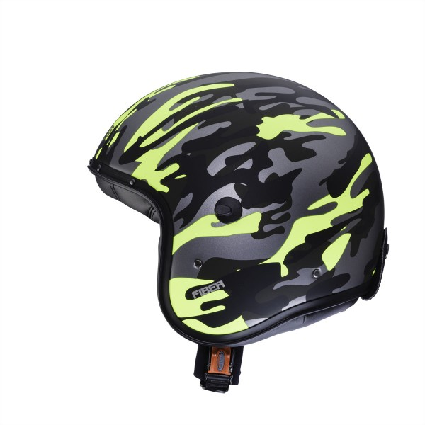 Caberg Freeride Commander Green Camo