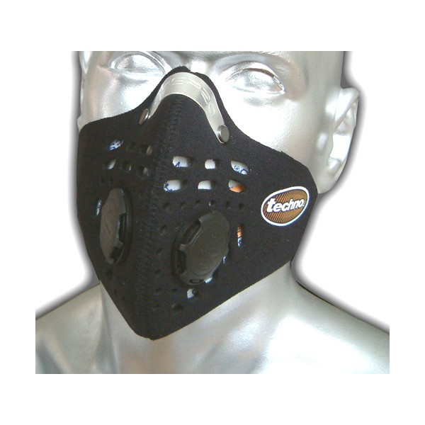 Respro Techno Face Mask Black