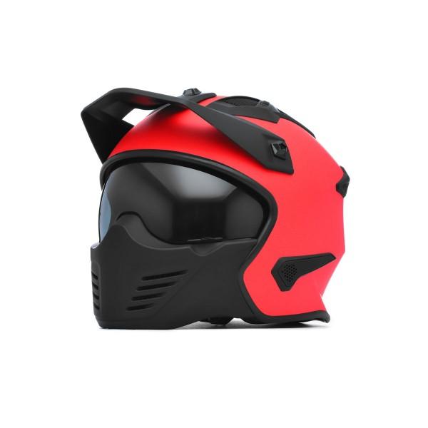 Spada Storm Helmet - Matt Fire Red