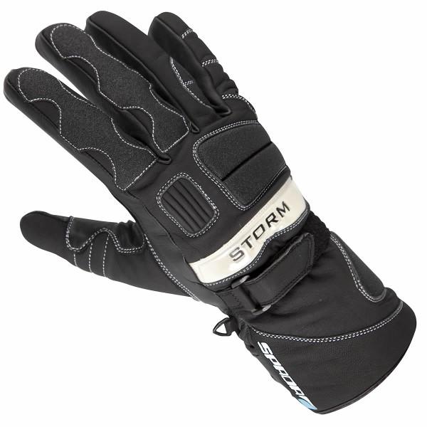 Spada Storm Leather Gloves - Black