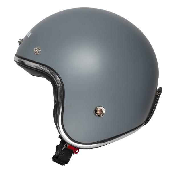 Spada Helmet Open Face Classic Plain Matt Grey