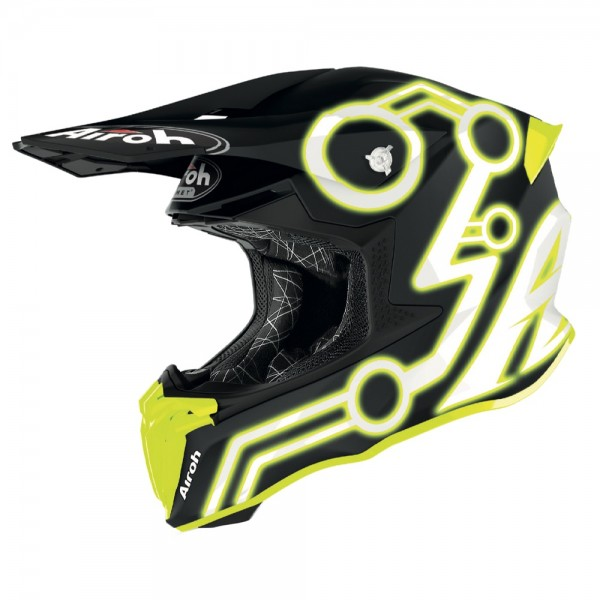 Airoh Twist 2.0 Neon Yellow Matt