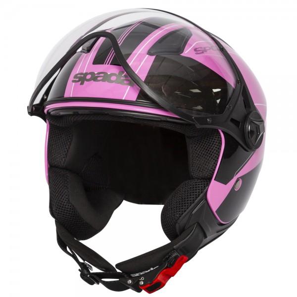 Spada Hellion Helmet - Twist Pink