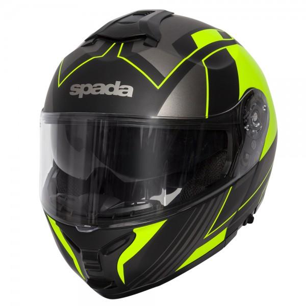 Spada Orion Helmet - Whip Matt Black/Flo
