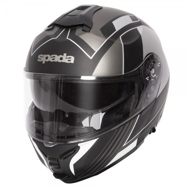 Spada Orion Helmet - Whip Matt Black/Silver