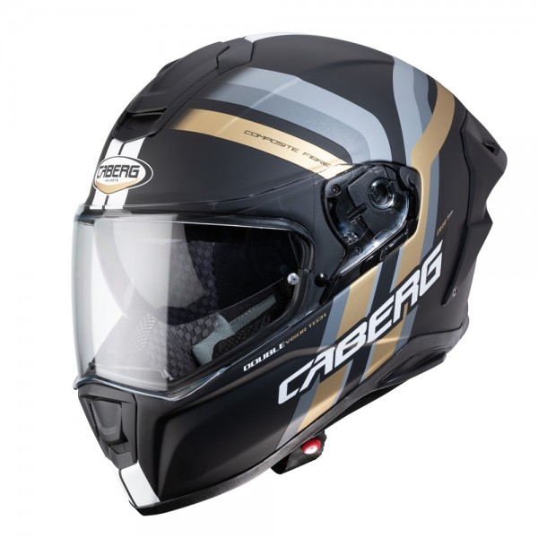 Caberg Drift Evo Vertical Matt Black/Anth/Gold