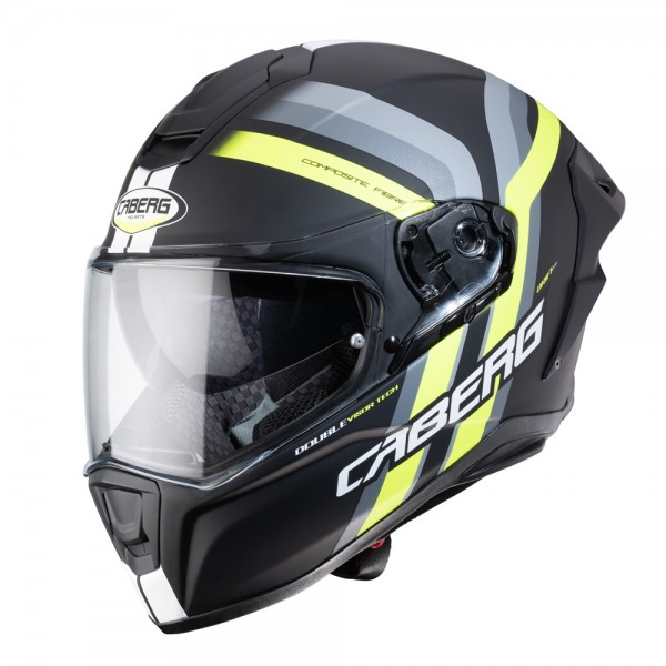 Caberg Drift Evo Vertical Matt Black/Anth/Flo